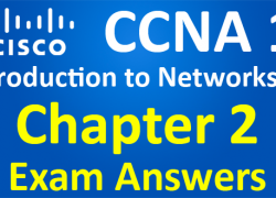 CCNA 1 Introduction to Networks Ver 6.0 – ITN Chapter 2 Exam Answers