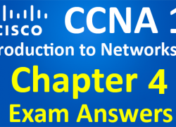 CCNA 1 Introduction to Networks Ver 6.0 – ITN Chapter 4 Exam Answers