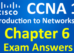 CCNA 1 Introduction to Networks Ver 6.0 – ITN Chapter 6 Exam Answers