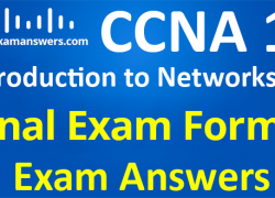 CCNA 1 Introduction to Networks Ver 6.0 – ITN Final Exam Answers Form 3