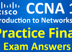 CCNA 1 Introduction to Networks Ver 6.0 – ITN Practice Final Exam Answers