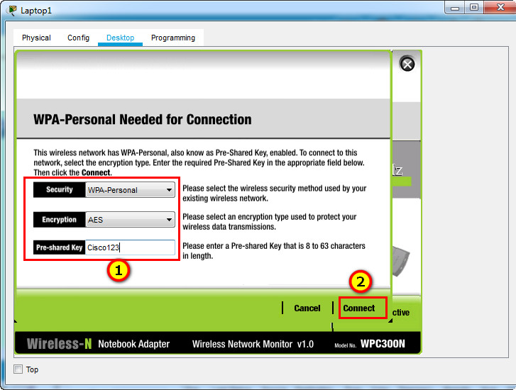 13.4.5 Packet Tracer – Troubleshoot WLAN Issues (Instructions Answer)