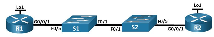 2.7.2 Lab – Configure Single-Area OSPFv2 (Answers)