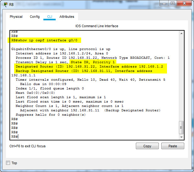 2.3.11 Packet Tracer – Determine the DR and BDR (Answers)